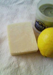 手作り石鹸とステンドグラス